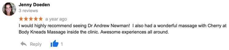 Lifestyle Chiropractic Patient Testimonial